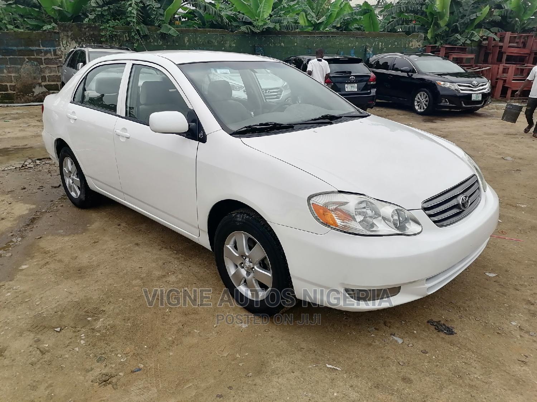 Toyota Corolla 2003 Sedan Automatic White