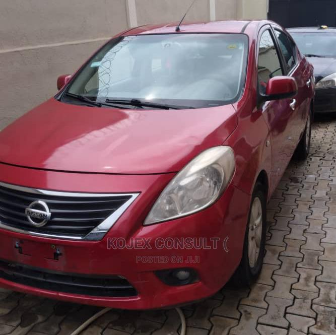 Archive: Nissan Almera 2013 Red