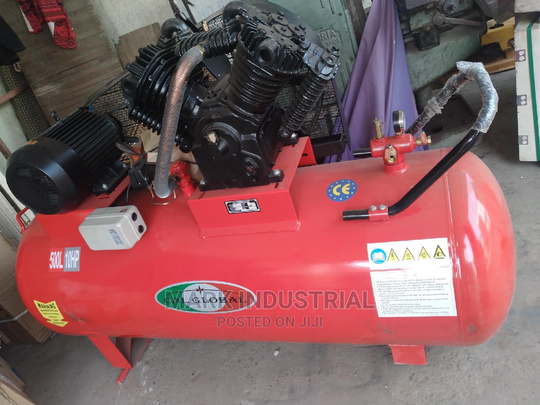 10hp 500L Air Compressor 16 Bar | Heavy Equipment for sale in Ojo, Lagos State, Nigeria
