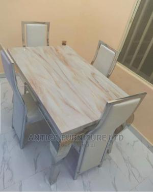 Quality Marble Dinning Table With 4 Chairs | Furniture for sale in Abuja (FCT) State, Wuse