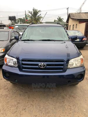Toyota Highlander 2005 4x4 Blue | Cars for sale in Lagos State, Apapa