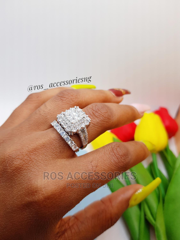 Zirconia Wedding Ring Set