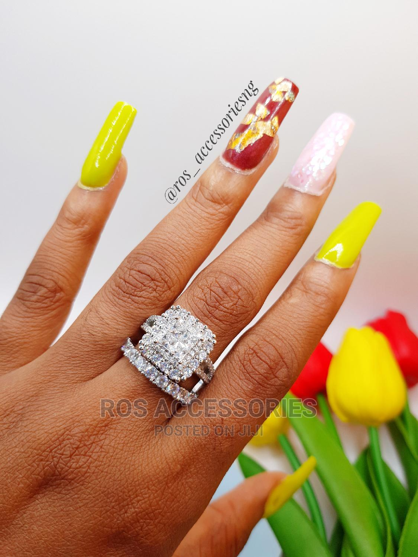 Zirconia Wedding Ring Set | Wedding Wear & Accessories for sale in Warri, Delta State, Nigeria