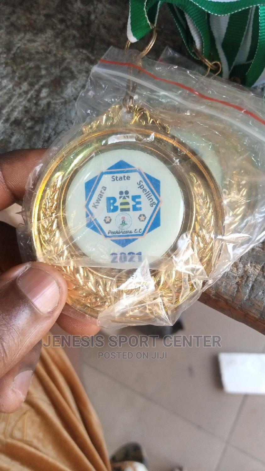 Medals With Printing 00   Sports Equipment for sale in Ikeja, Lagos State, Nigeria