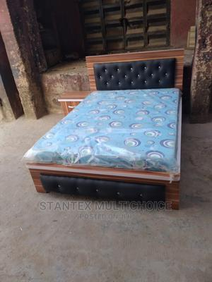 41⁄2by6 Upholstery Bedframe | Furniture for sale in Lagos State, Lekki