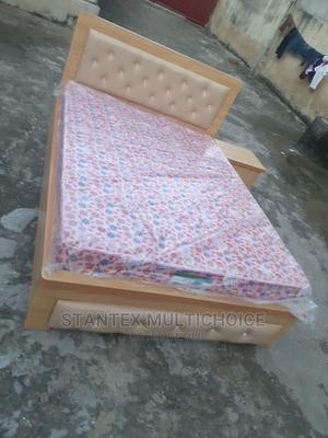41⁄2by6 Upholstery Bedframe   Furniture for sale in Lagos State, Lekki