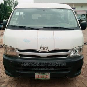 Nigerian Used Toyota Hiace 2014 White | Buses & Microbuses for sale in Enugu State, Enugu