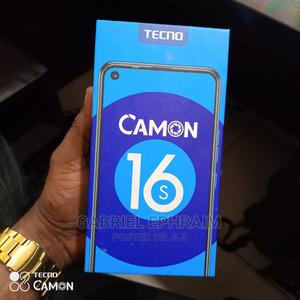 New Tecno Camon 16S 128 GB Black | Mobile Phones for sale in Rivers State, Eleme