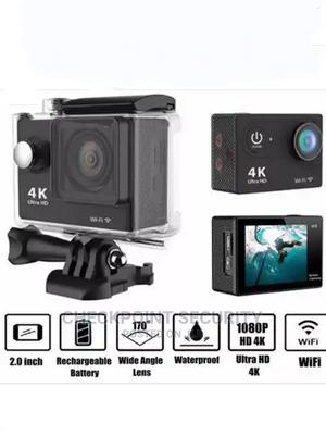 4K Ultra HD 12mp Wifi Action Camera | Photo & Video Cameras for sale in Lagos State, Ikeja