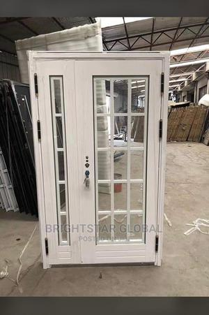 White Glass Entrance Door   Doors for sale in Lagos State, Orile