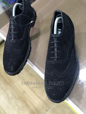Black Suede Brouges | Shoes for sale in Lagos State, Mushin
