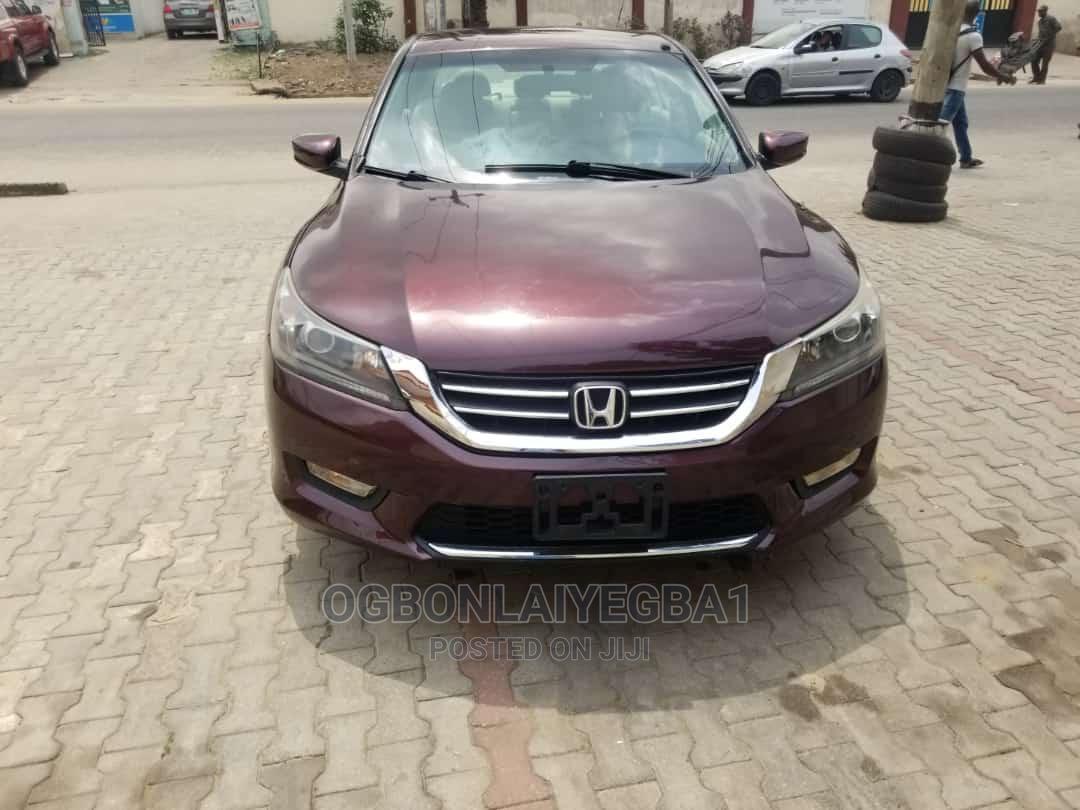 Honda Accord 2014 Red