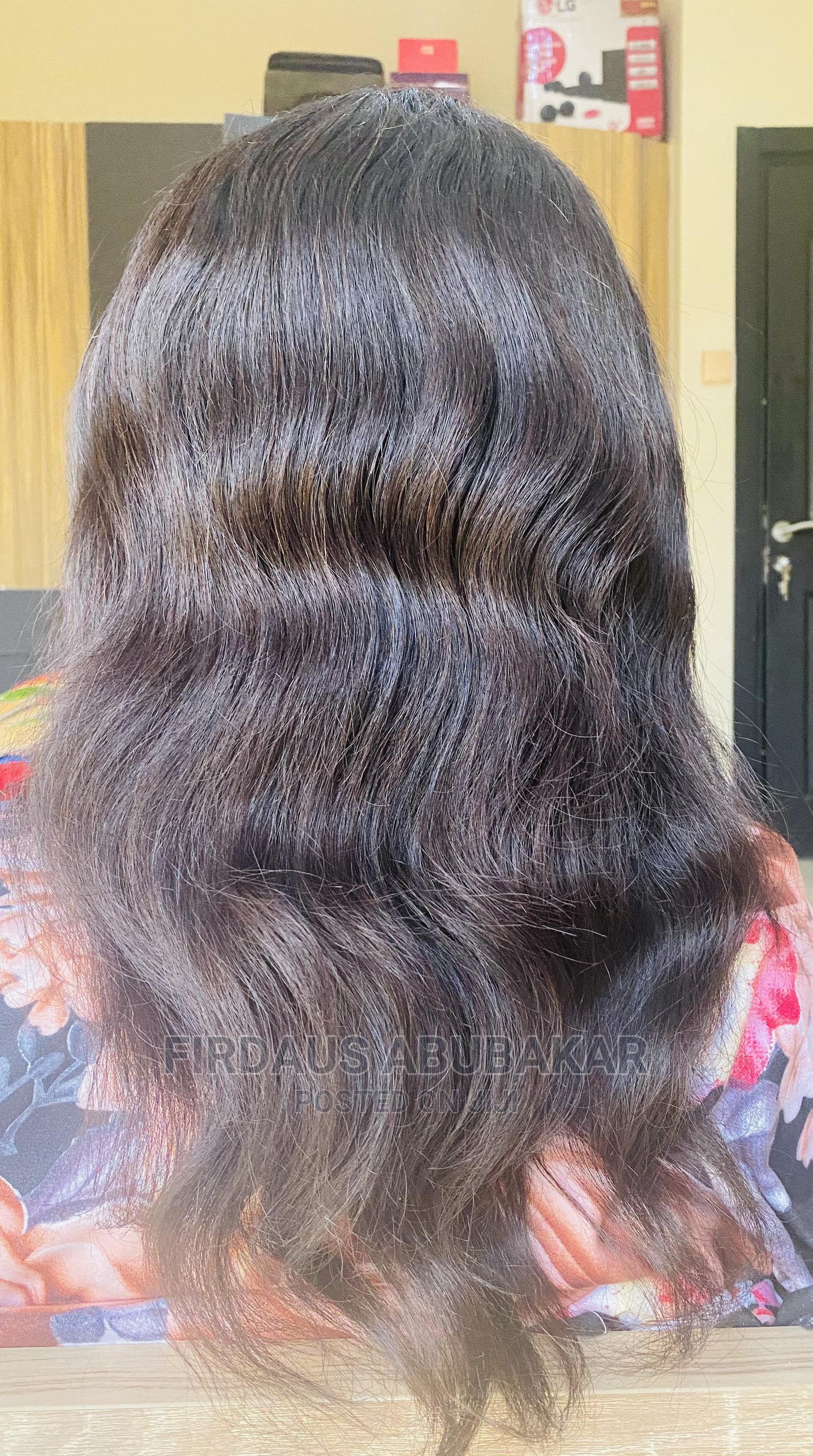 14 Inches Human Hair With Closure | Hair Beauty for sale in Lugbe District, Abuja (FCT) State, Nigeria