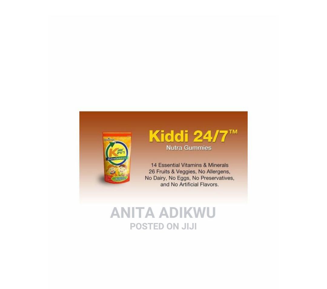 Kiddi 24/7 Nutragummies | Vitamins & Supplements for sale in Lugbe District, Abuja (FCT) State, Nigeria