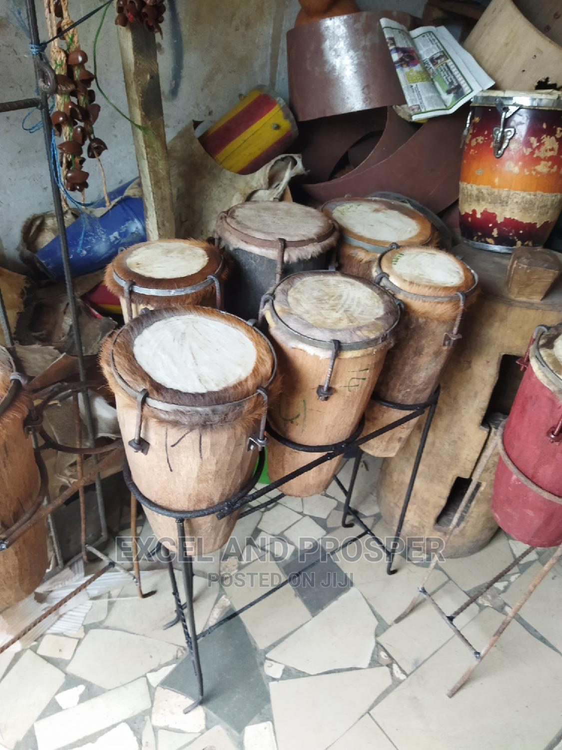 Local Conga Drums.