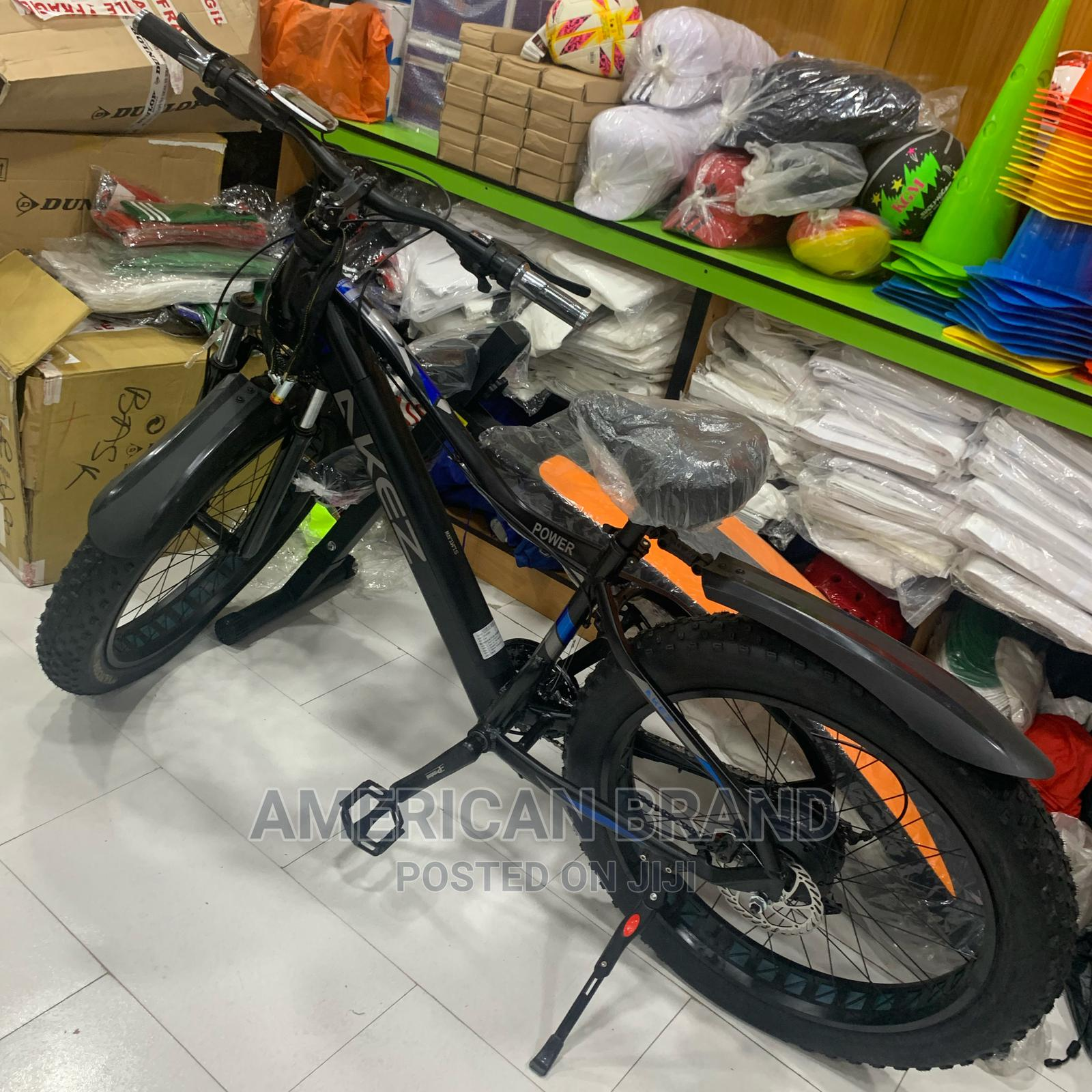 Brand New Fat Tire Electric Bicycle With LED Display | Sports Equipment for sale in Surulere, Lagos State, Nigeria