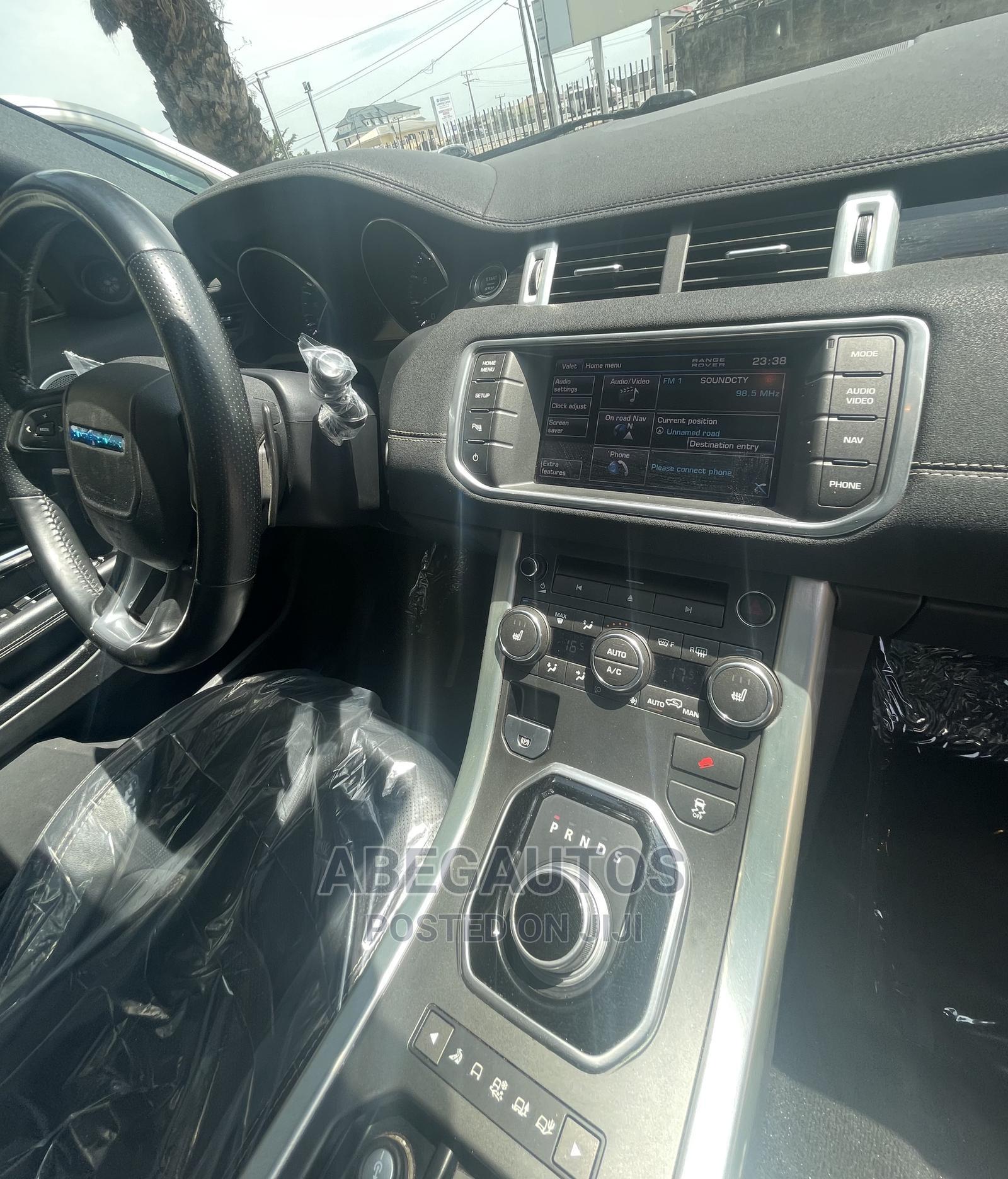 Archive: Land Rover Range Rover Evoque 2013 Black