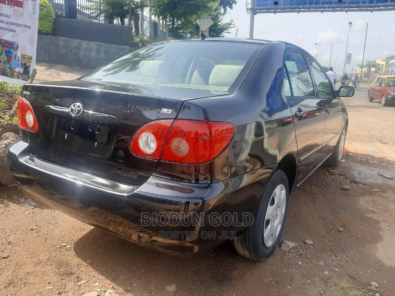 Archive: Toyota Corolla 2003 Sedan Automatic Black