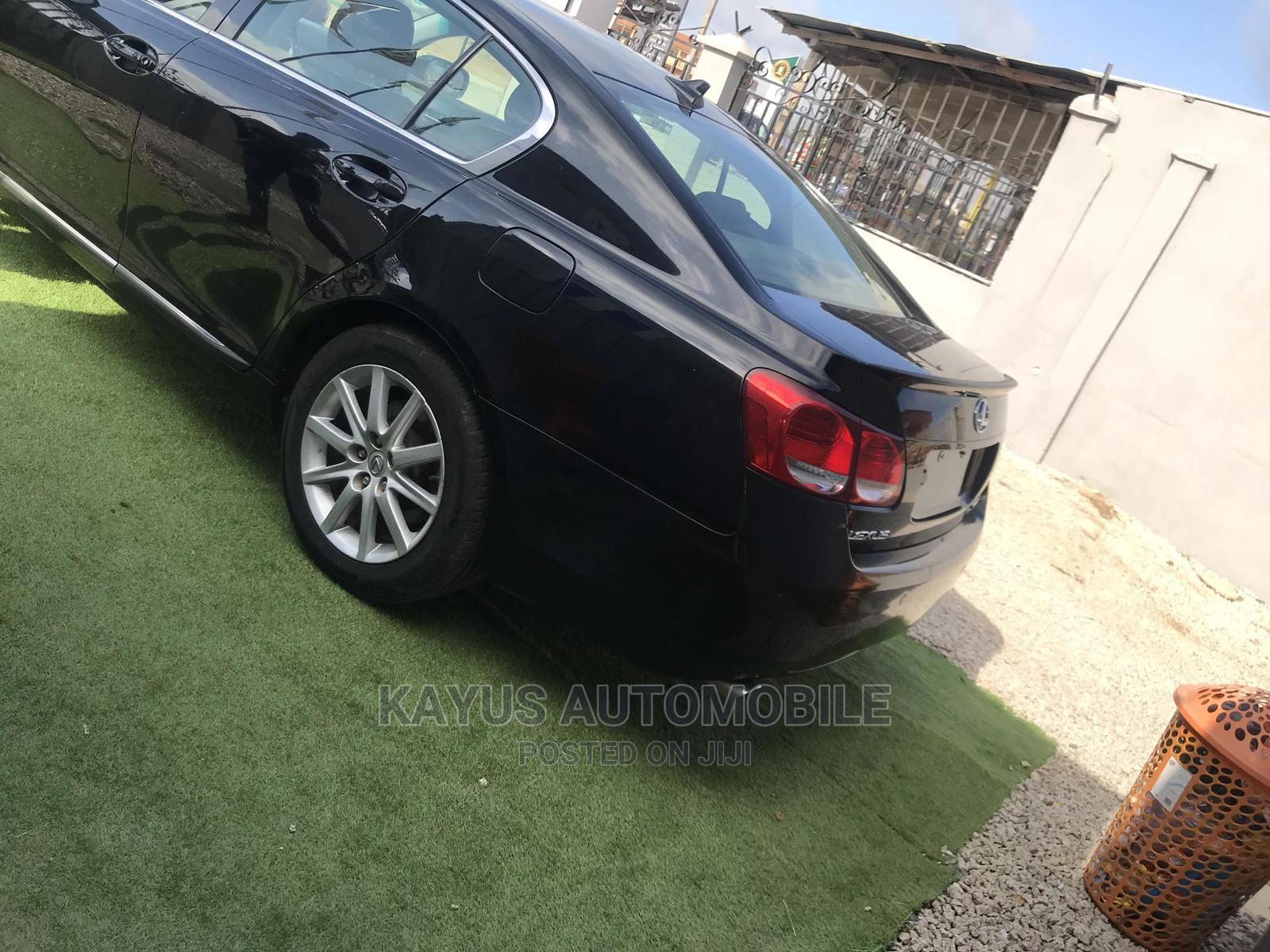 Archive: Lexus GS 2008 350 Black