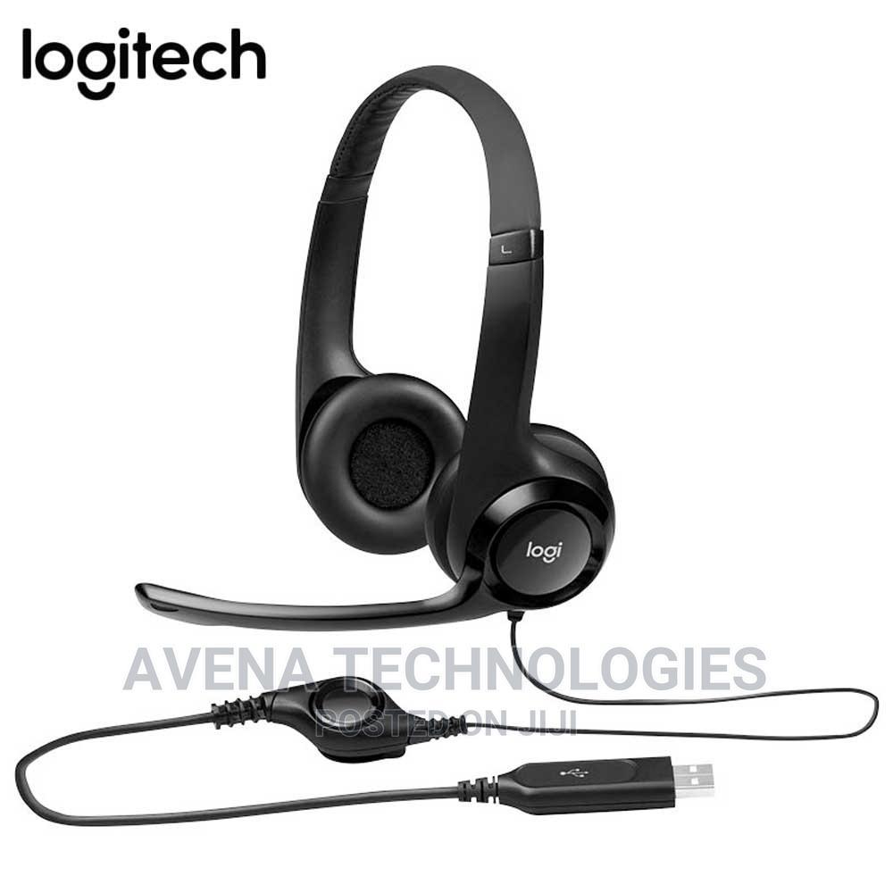 Logitech – H390 USB Computer Headset
