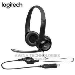 Logitech – H390 USB Computer Headset | Headphones for sale in Lagos State, Ikeja