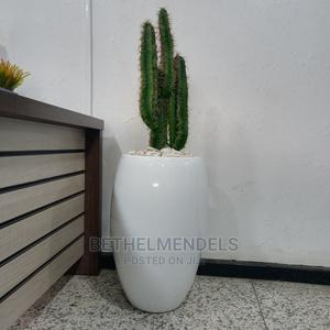 Artifical Cactus Plant With Fiber Glass Pot for Sale | Garden for sale in Lagos State, Ikeja
