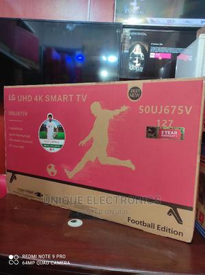 New 2021 LG 50''inch UHD Android 4K Smart Internet Tv +Mount | TV & DVD Equipment for sale in Lagos State, Ojo