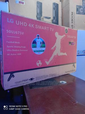 *New 2021 LG 50''inch UHD Android 4K Smart Internet Tv+Mount | TV & DVD Equipment for sale in Lagos State, Ojo