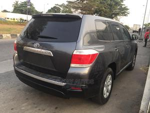 Toyota Highlander 2013 Gray | Cars for sale in Lagos State, Surulere