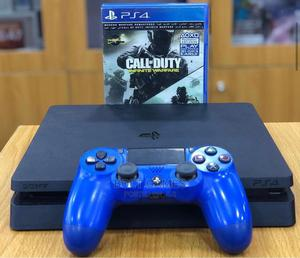 Playstation 4 With 10 Games Inside and Pad   Video Game Consoles for sale in Lagos State, Mushin