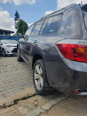 Toyota Highlander 2008 Sport Gray   Cars for sale in Lagos State, Ikeja