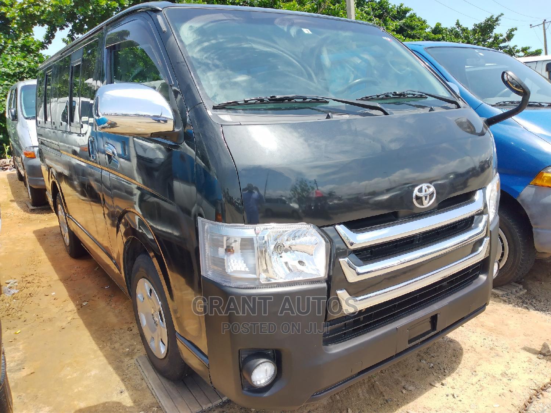 Toyota Hiace Bus 2010 Black   Buses & Microbuses for sale in Apapa, Lagos State, Nigeria
