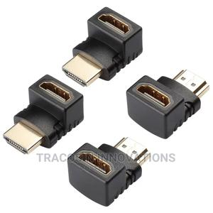 90 Degree Angle HDMI Connector HDMI Male to Female Adapter | Accessories & Supplies for Electronics for sale in Lagos State, Yaba