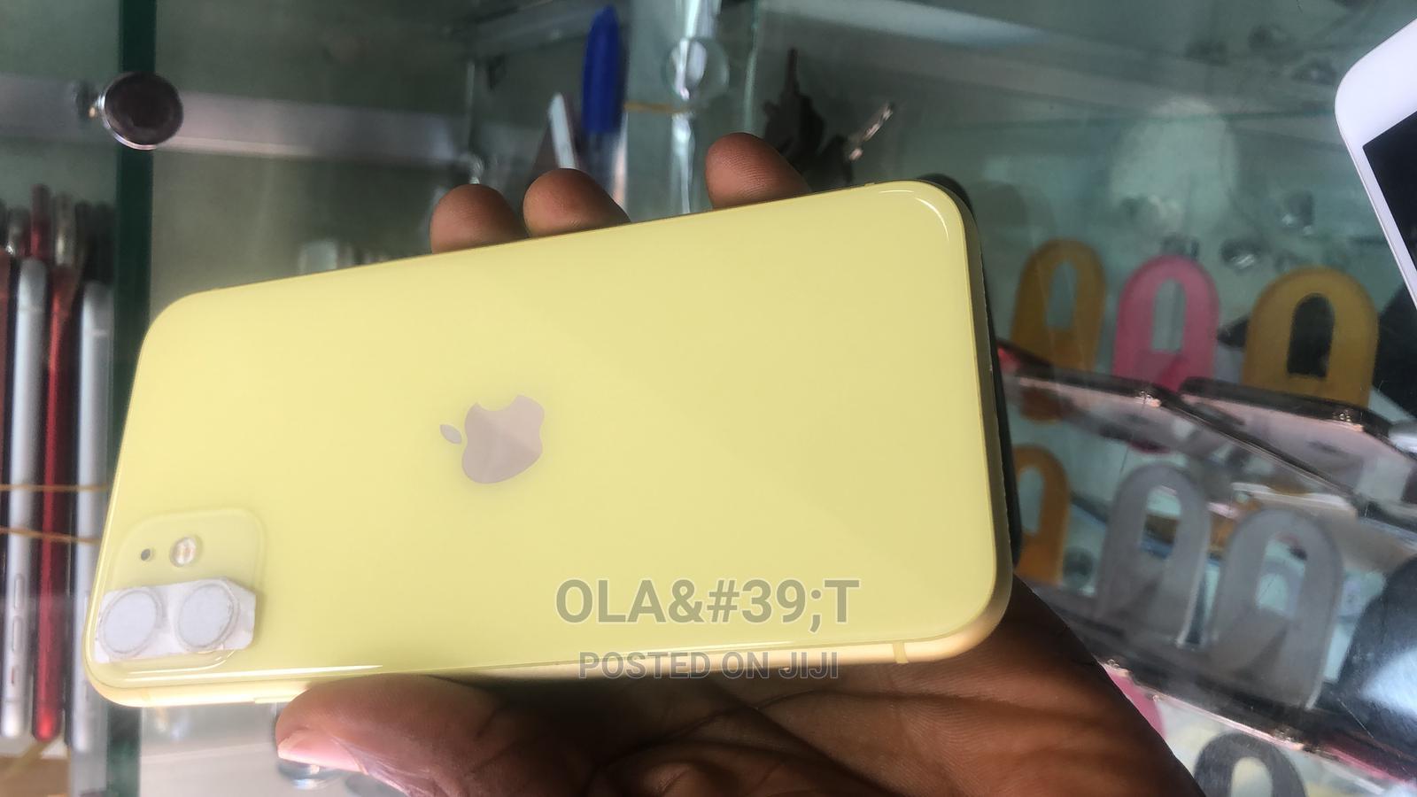 Apple iPhone 11 64 GB Yellow   Mobile Phones for sale in Ijebu Ode, Ogun State, Nigeria