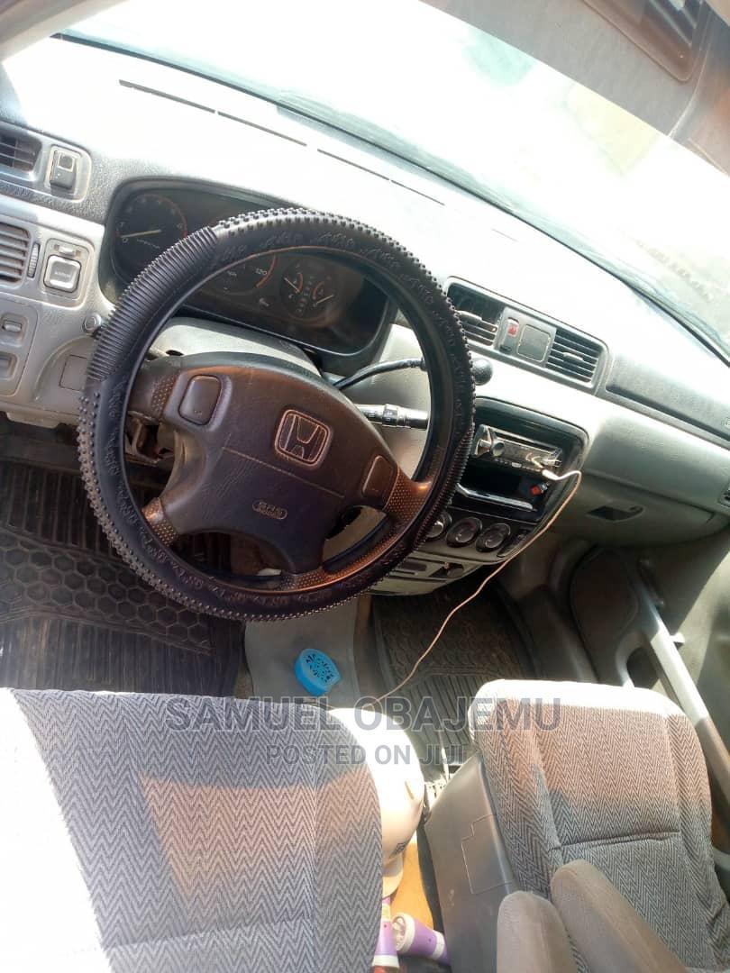 Archive: Honda CR-V 1999 Silver
