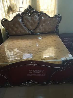 Brown Sets of Bed With Wardrobe   Furniture for sale in Lagos State, Orile