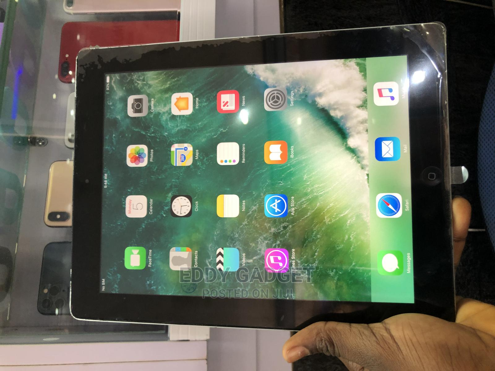 Apple iPad 4 Wi-Fi + Cellular 16 GB Silver | Tablets for sale in Wuse, Abuja (FCT) State, Nigeria
