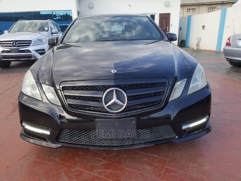 Mercedes-Benz E350 2012 Black