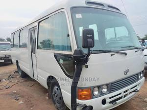 Toyota Coaster Bus 2007 White | Buses & Microbuses for sale in Abuja (FCT) State, Gudu