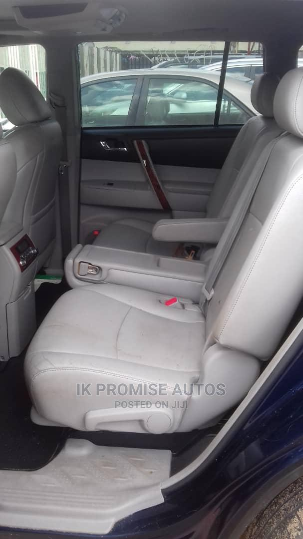 Toyota Highlander 2011 Limited Blue | Cars for sale in Ikeja, Lagos State, Nigeria