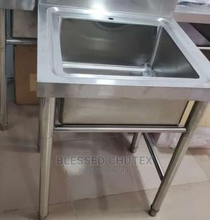 Single Bowl Stainless Steel Sink | Restaurant & Catering Equipment for sale in Lagos State, Ojo