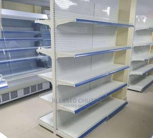 Double Sided Supermarket Shelf | Restaurant & Catering Equipment for sale in Lagos State, Alimosho