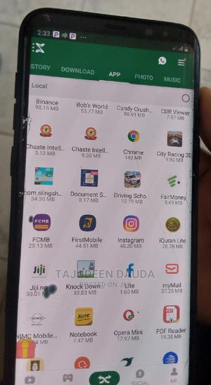 Samsung Galaxy S8 Plus 64 GB Black | Mobile Phones for sale in Kwara State, Ilorin South