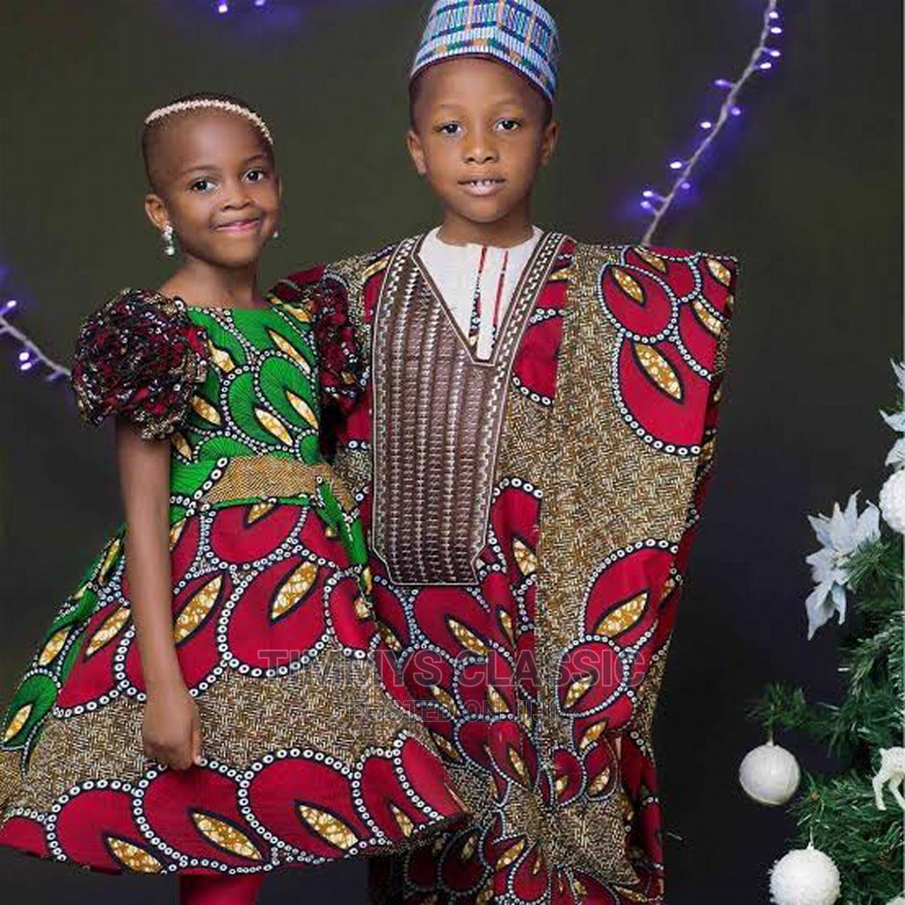 Beautiful Nigerian Traditional Wears for Kids