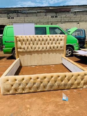 6by6 Upholstery Bed Frame | Furniture for sale in Lagos State, Ojo