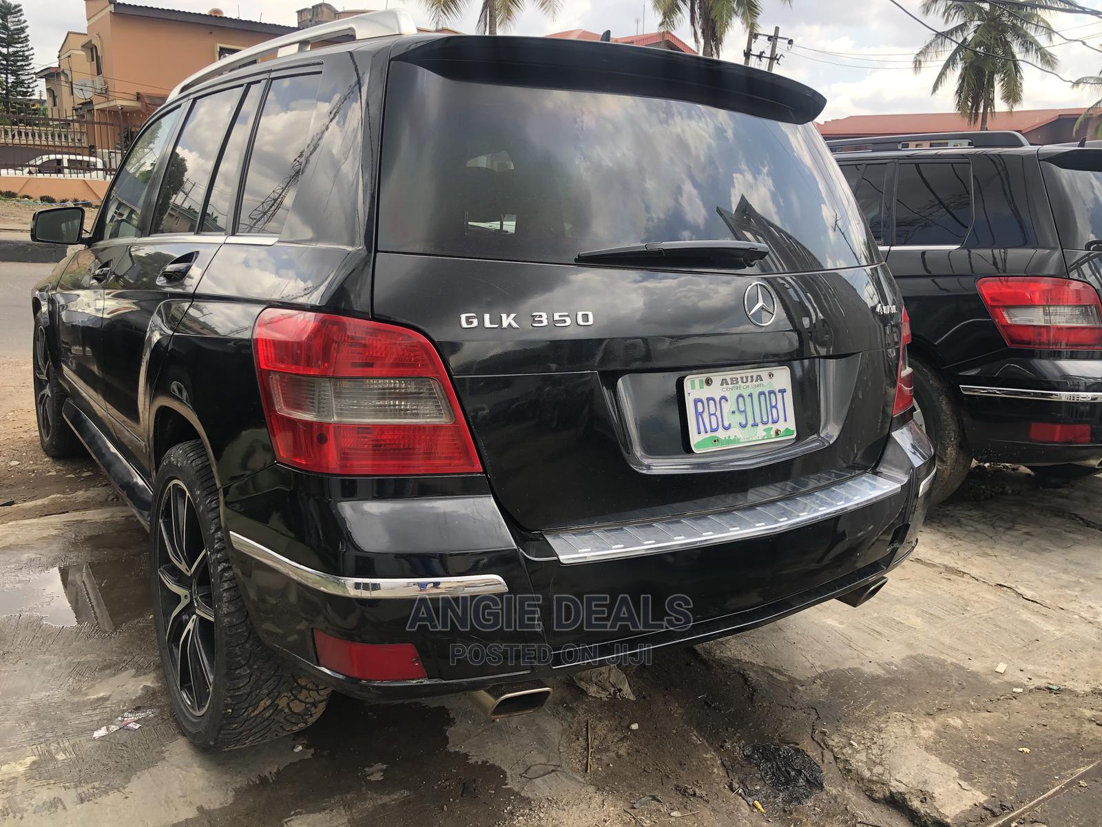 Mercedes-Benz GLK-Class 2011 350 4MATIC Black   Cars for sale in Ikeja, Lagos State, Nigeria