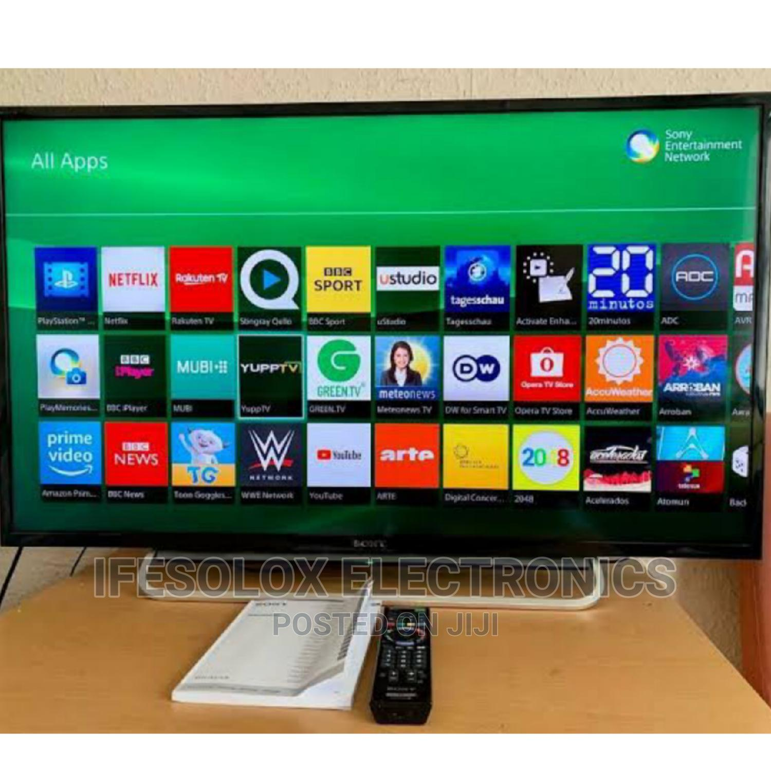 43 Inch Sony Androidos Smart UHD LED TV - London Used