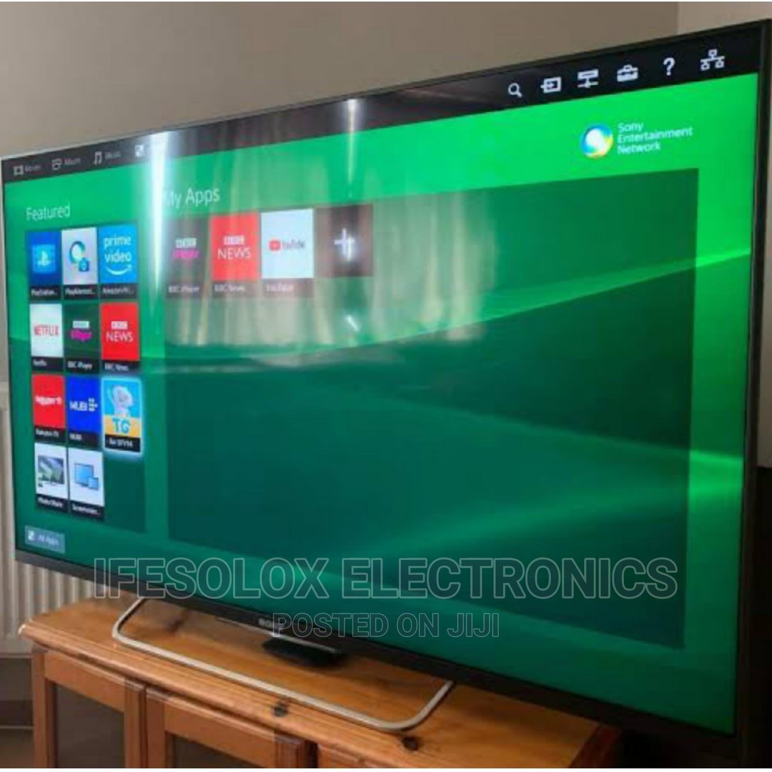 43 Inch Sony Androidos Smart UHD LED TV - London Used   TV & DVD Equipment for sale in Ojo, Lagos State, Nigeria