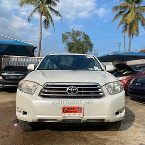 Toyota Highlander 2008 White   Cars for sale in Lagos State, Ikeja