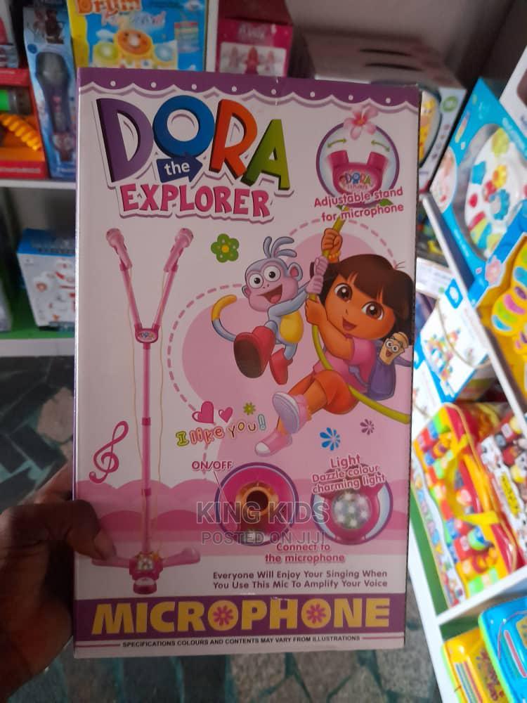 Archive: Dora the Explorer Microphone - Purple